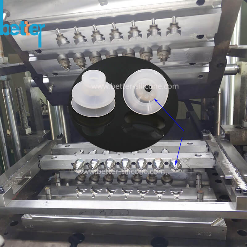 silicone bellow compression molding