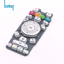 Plastic Rubber Keypad for Switch Remote Controller