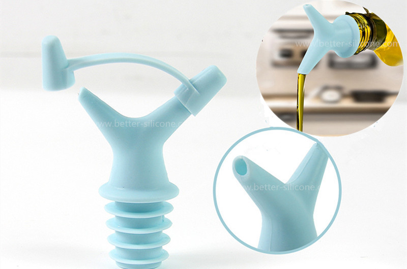 Custom Silicone Rubber Wine Bottle Stoppers From China