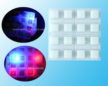 Transparent Translucent Silicone Backlight Keypad 4x4 keys