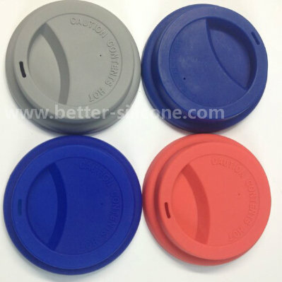 Fashionable Customized Silicone Cup Lids