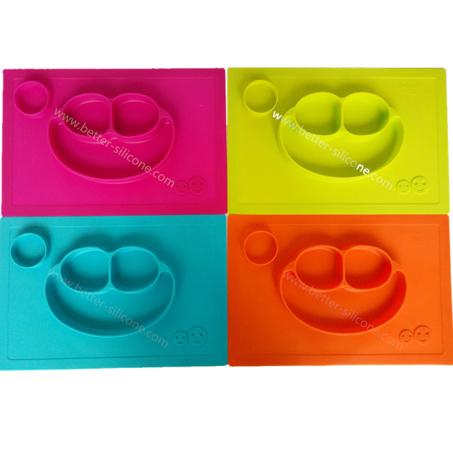 Baby Silicone Dinner Tray