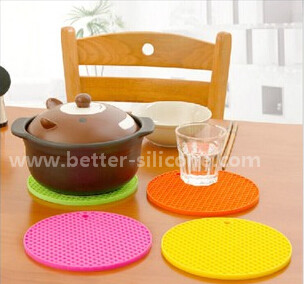 Promotion Food Grade Silicone Hot Pot Pad