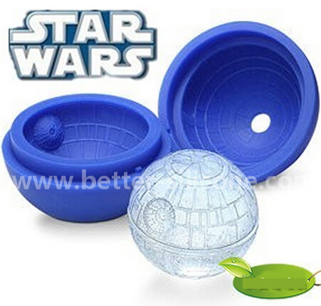 Fashionable Star Wars Silicon Rubber Ice Ball Mould
