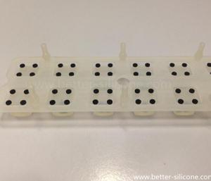 Electrically Rubber Conductive Printing Keypad