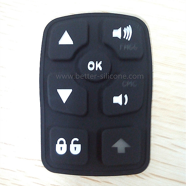 Laser Etching Silicone Rubber Switch Button