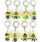 3D Design Silicone Keyrings