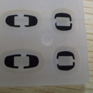 Electric Conductive Printing Silicone Keypad