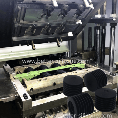 Compression Moulding Process for Rubber Bellow