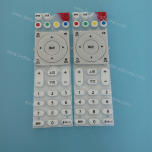 Custom Screen Print Silicone Rubber Keypad
