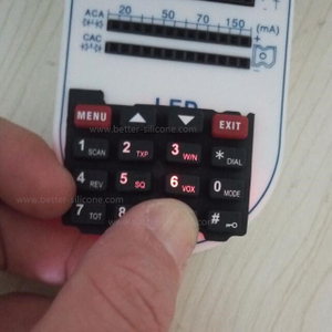 Translucent Silicon Backlit Keypad