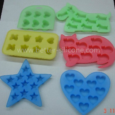 FDA/LFGB Shaped Silicone Ice Mold