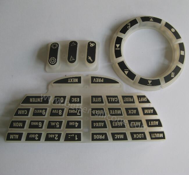 Electrically Conductive Ink Printing Keypad